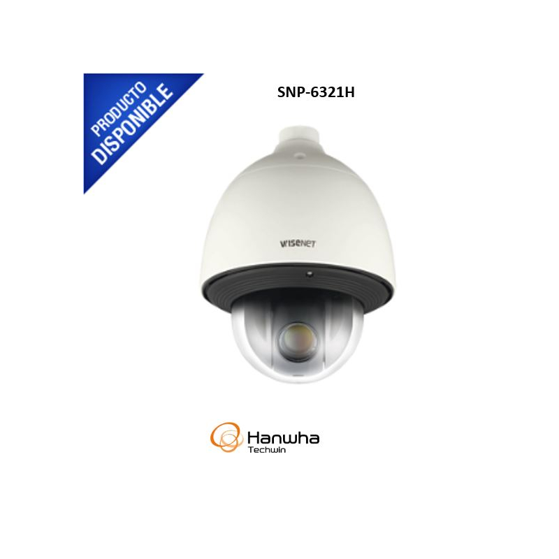 Domo IP PTZ, 2MP Full HD, 32X zoom, WDR avanzado, video análisis, acepta memoria SD/SDHC, IP66/IK10 para exterior