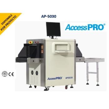 Sistema de inspección por Rayos X para equipaje de mano con túnel de 50 x 30 cms.