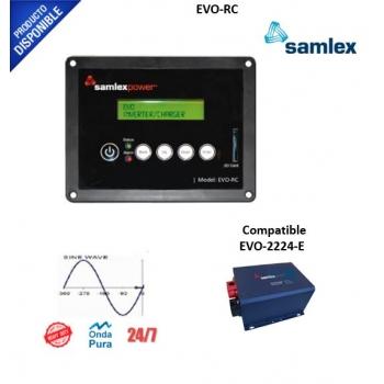 Control Remoto para Inversor Cargador EVO-2212, EVO-3012, EVO-2224