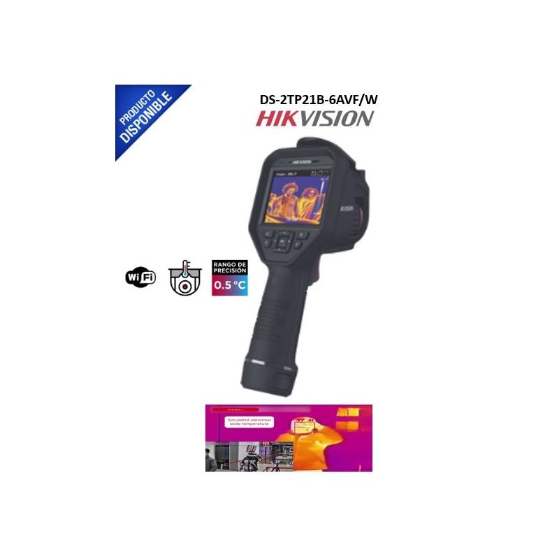 Cámara Portátil para Detección de Temperatura / Lente Térmico 6.2 mm (160 x 120) / IP54 / Termométrica / Wi-Fi