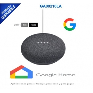 Google Home Mini Asistente de Voz, Inalámbrico, WiFi, Bluetooth