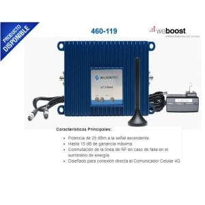 Kit Amplificador de Señal Celular de Conexión Directa a un Comunicador 4G LTE  3G Funciona con todos los operadores de México