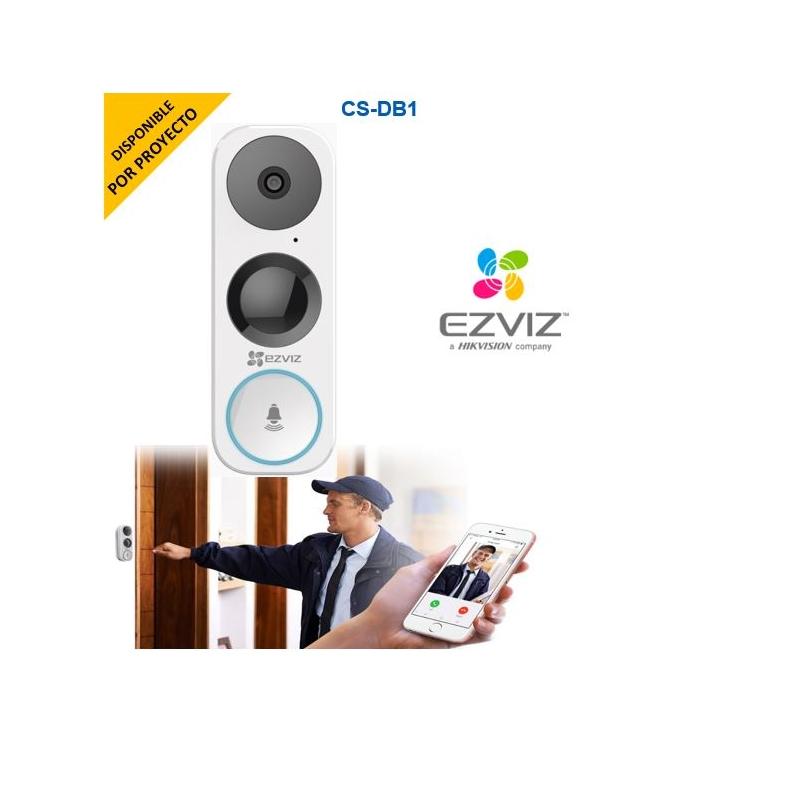 Timbre Autonomo IP con Cámara de 3 Megapixel / 5 mts IR / Sensor PIR / IP65 / Angulo de visión 180° / Audio de Dos Vías / Micro SD