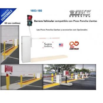 Barrera Vehicular /Uso Continuo / Bajo Mantenimiento Compatible con Picos Poncha Llantas