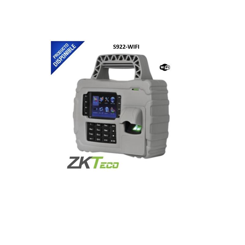 Lector de Huella Digital Portátil con Proximidad y Teclado para Tiempo y Asistencia.  S-922