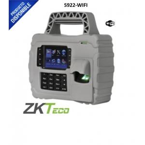 Lector de Huella Digital Portátil con Proximidad y Teclado para Tiempo y Asistencia. S922