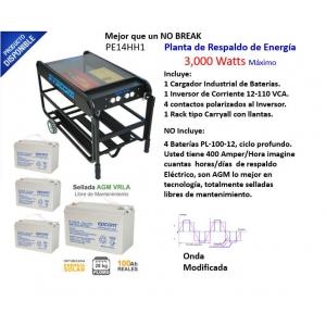 Planta de Respaldo de Energía de 3,000 Watts Máximo PE14HH1