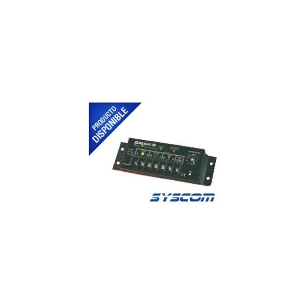 Controlador Solar para Iluminación de Luz Mercurial, Estaciones de Autobús y Señalamientos 10 A, 12 VCD. SL10L12V