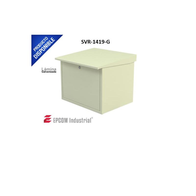 Gabinete Metálico con Espacio para Dos Baterías  SVR-1419