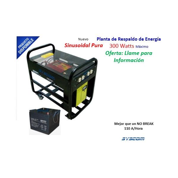 Planta de Energía 300 Watts 115 VCA.  PESI-300/4