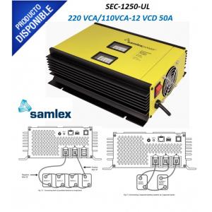 Cargador de Baterías Industriales, 50 A Continuos SEC1250UL