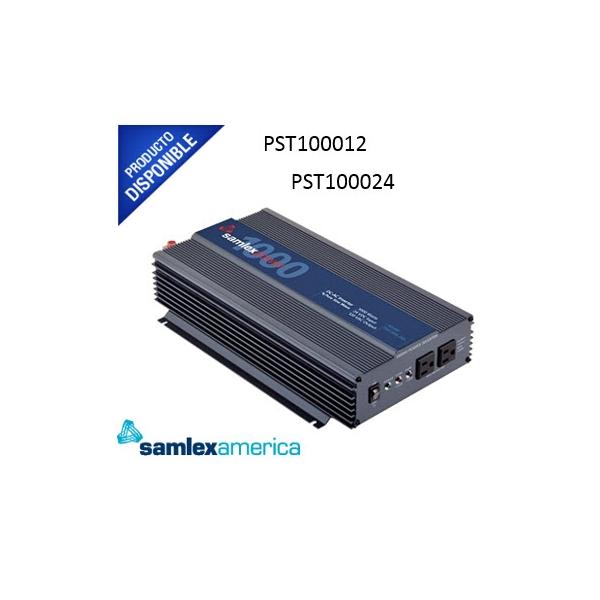 Inversor de Corriente pura 1000 W. Entrada 12 Vcd, Salida 120 VCA PST100012