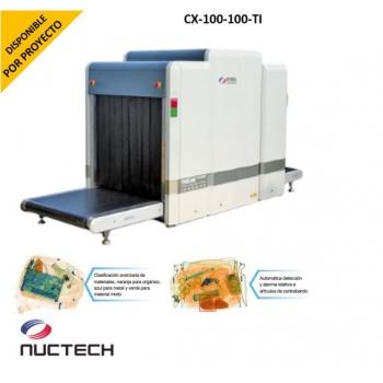 Sistema de inspección por Rayos X para Mochilas y Equipaje