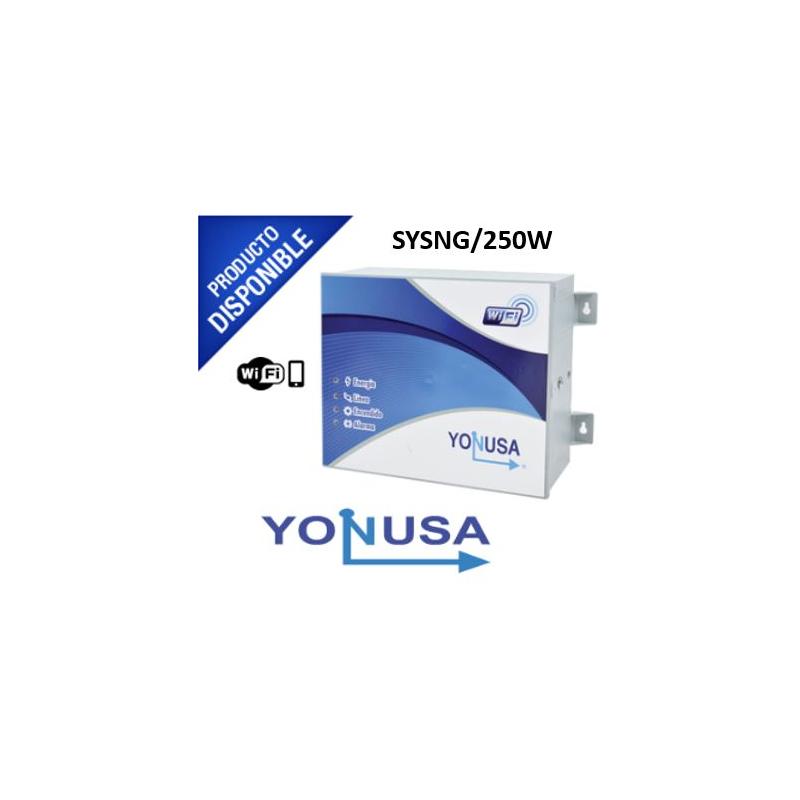 Energizador de 12,000Volts-.9JOULES-Incluye tarjeta WIFI/250 Mts de protección para 5 Lineas/Activado por Atenuación de voltaje,Corte de línea o Aterr