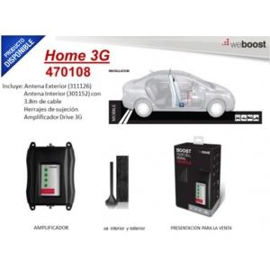 Kit amplificador de señal celular cuatribanda para vehículo, para 4G LTE, 3G, 2G y Nextel Evolution, multiusuario.  470108