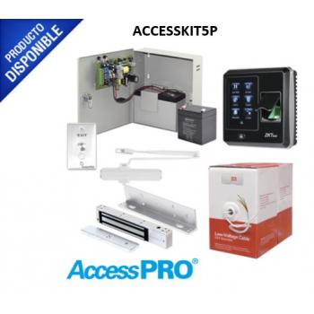 Sistema Completo de Acceso con Lector Biométrico.
