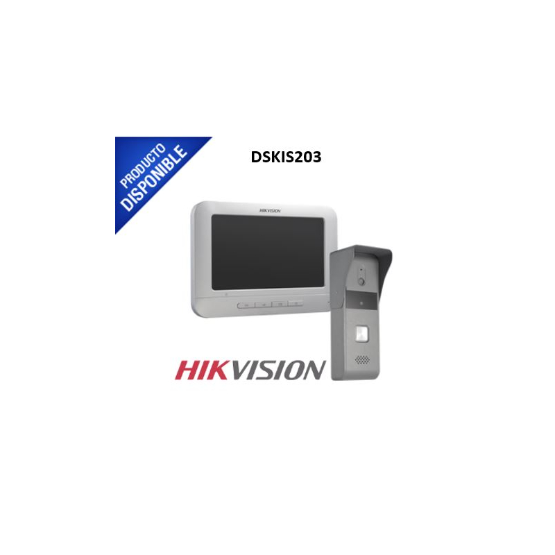Kit de Videoportero manos libres con pantalla LCD a color de 7