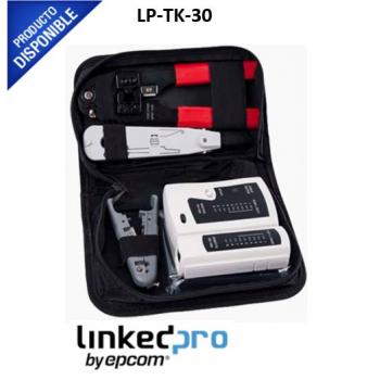 Kit de herramientas para instalación de redes LP-TK-30