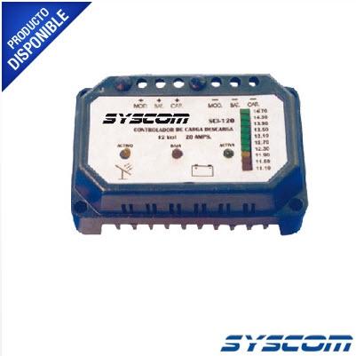 Controlador de Carga y Descarga para Sistemas Solares 20 A, 12 VCD