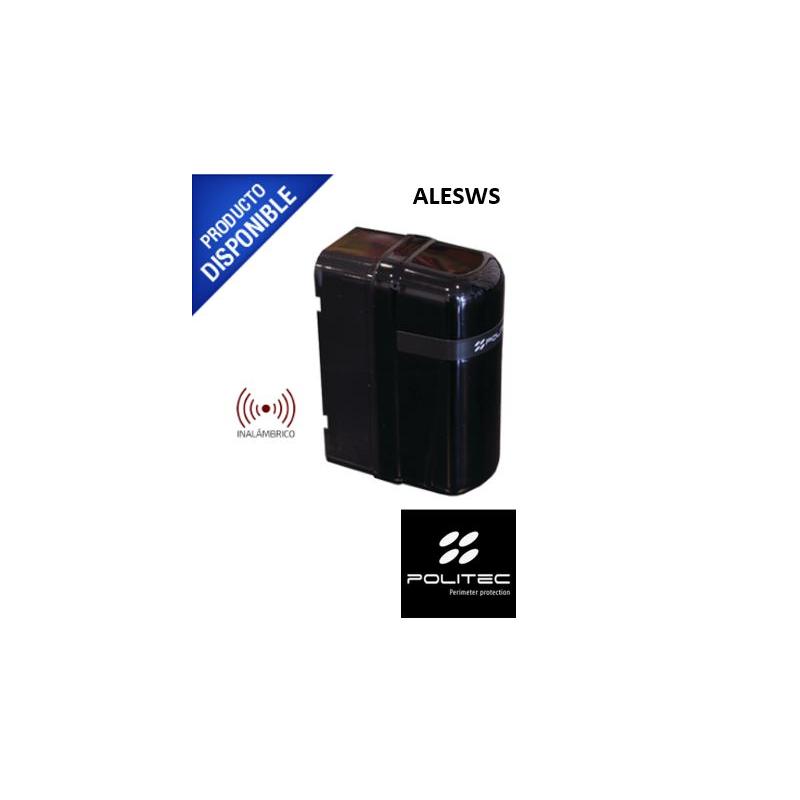 Detector Inalámbrico Fotoeléctrico, Batería con Duración Hasta 3 años, Instalación Rápida Por Un Solo Operador ALESWS