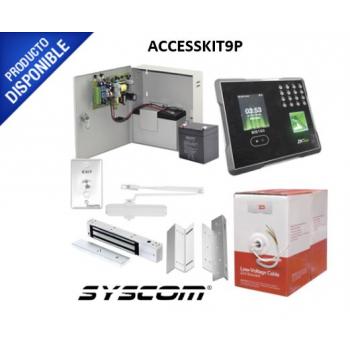 Sistema Completo de Acceso y Asistencia con Lector Biométrico.