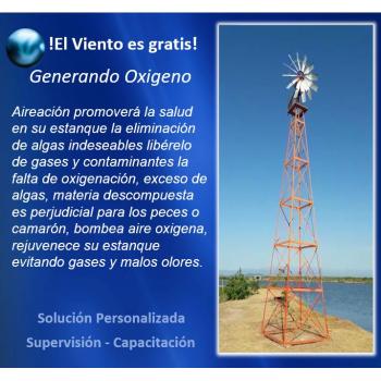 Oxigenación del Agua por Generación Eólica