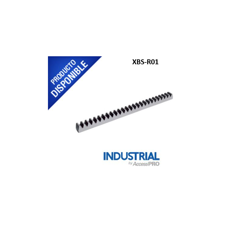 Cremallera de acero para puertas corredizas  XBS-R01