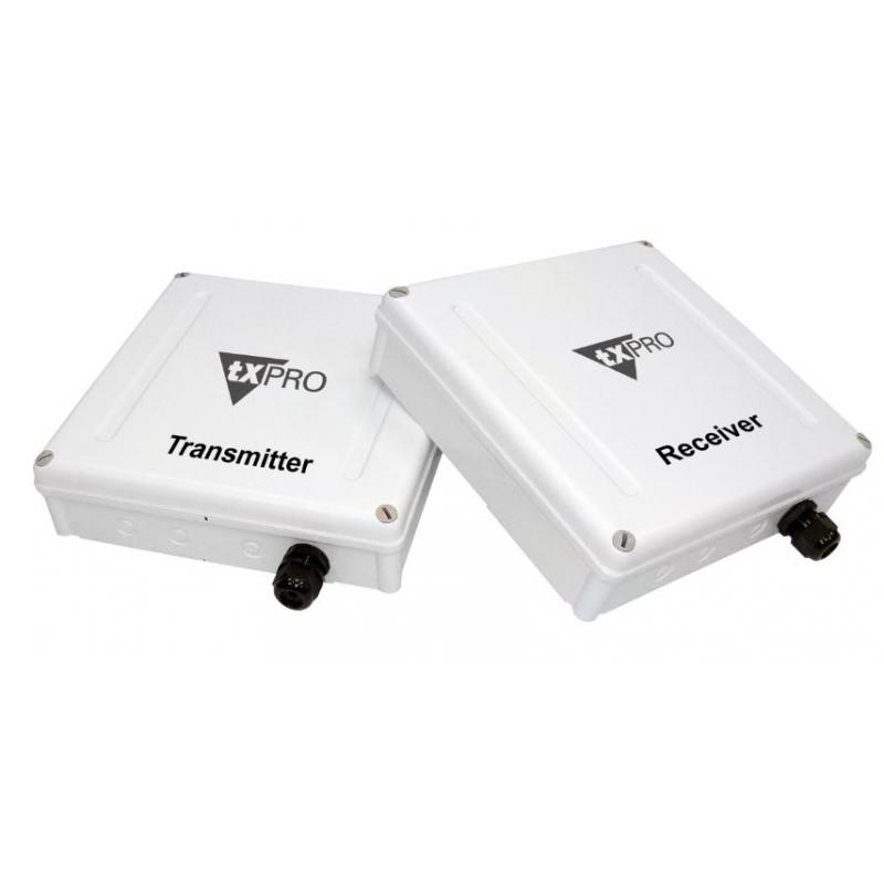 Kit de transmisión de video y audio inalámbrico para cámaras analogas.  TXC2.4GELV