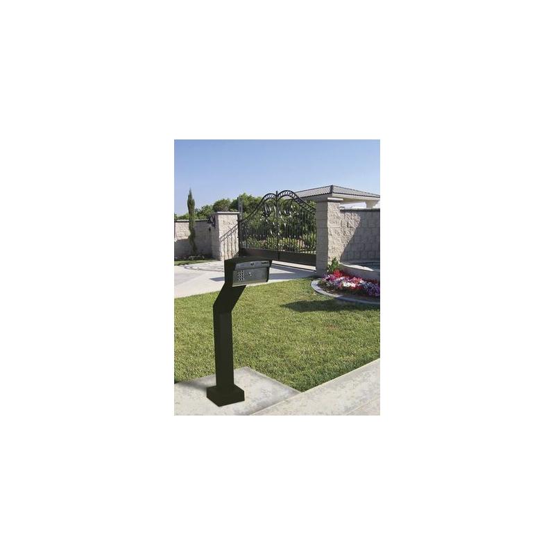 Access PLUS DKS / Atienda la puerta aún sin estar en casa! / Interfon telefónico / 27 números celulares / Control de acceso / 2 puertas / Lineas A/D