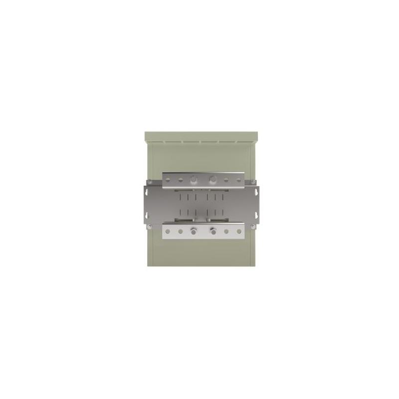 Gabinete de Seguridad, Lámina Galvanizada, para 2 Baterías y/o Equipo Similar con Montaje en Poste.