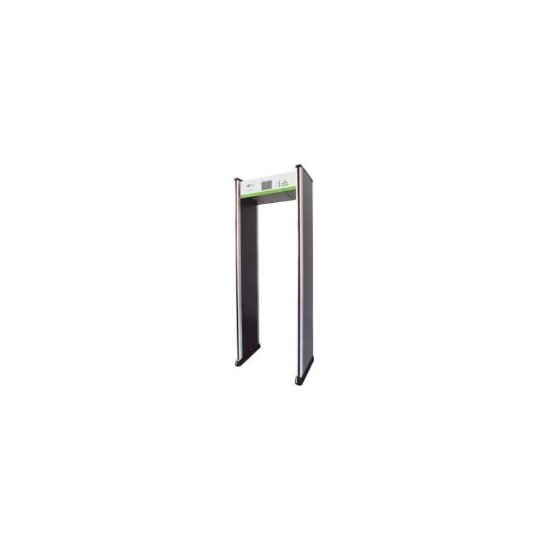 Arco Detector de Metales de 18 Zonas / Sensor IR / Contador de personas / Pantalla de programación / Opción de programación por control remoto.  ZK-D3