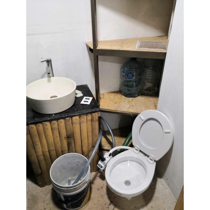 Biodigestor Homebiogas 2.0 Con Toilet Convierte tus desperdicios orgánicos en Gas y Fertilizante